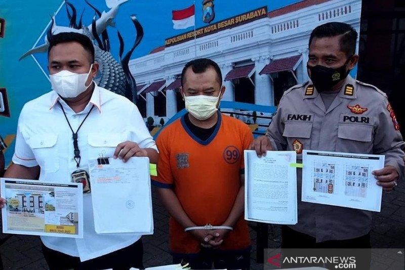 Polrestabes Surabaya ungkap penipuan investasi properti
