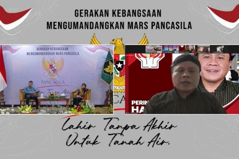 BPIP apresiasi gerakan kebangsaan mengumandangkan Mars Pancasila