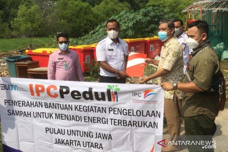Pelindo II bantu pengolahan sampah di Kepulauan Seribu