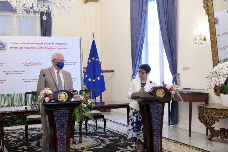 Indonesia harapkan dukungan EU untuk wujudkan kemerdekaan Palestina