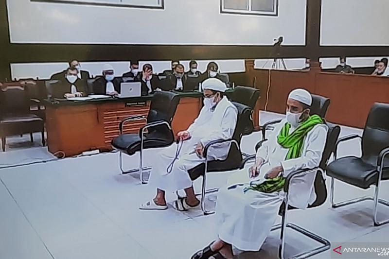 Rizieq Shihab dituntut enam tahun penjara kasus RS Ummi Bogor
