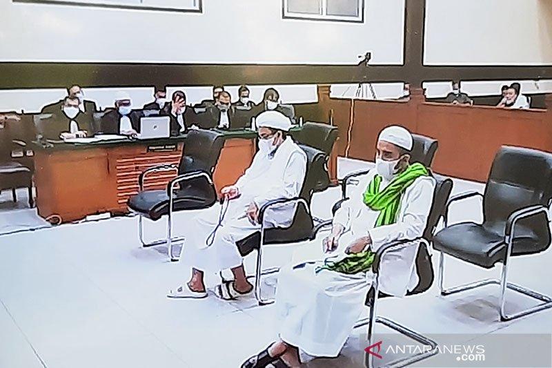 Rizieq Shihab jalani sidang pledoi kasus RS UMMI Kamis ini