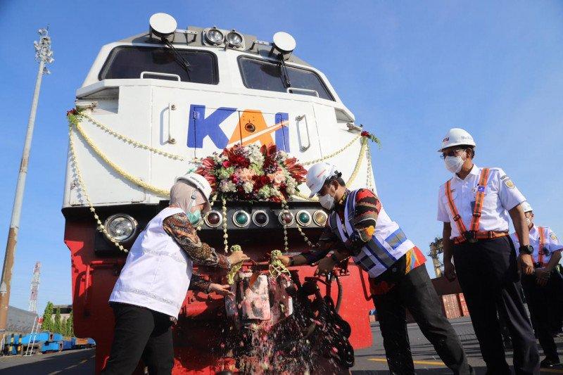 Terminal Petikemas Surabaya fungsikan kembali angkutan logistik KA