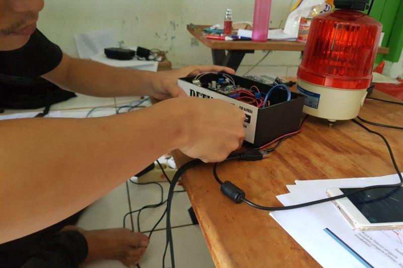 Mahasiswa Itera kembangkan alat deteksi kantuk pada kendaraan berat