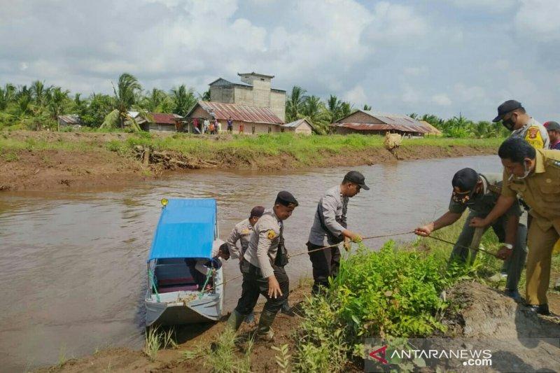 Tim gabungan menghentikan pencarian korban terkaman buaya di Banyuasin