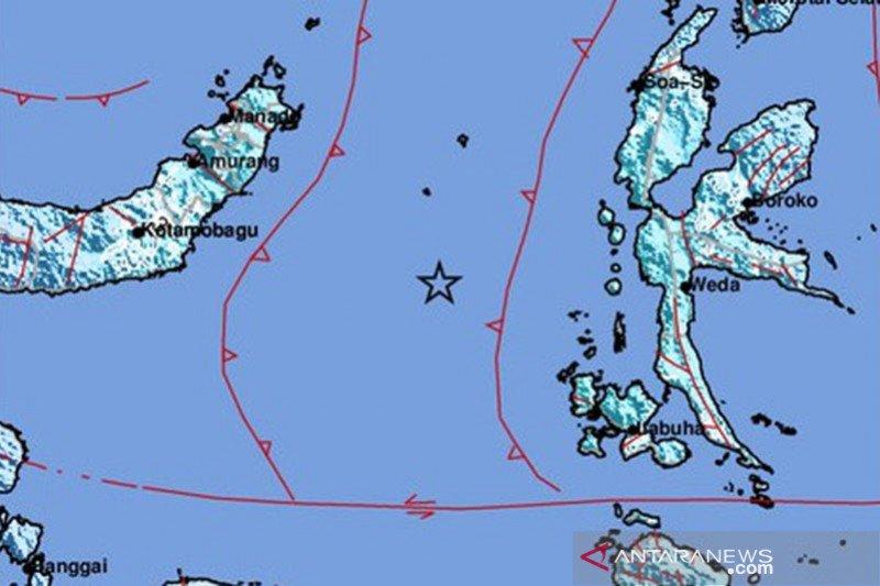 Gempa M 6,1 di Malut akibat aktivitas deformasi batuan