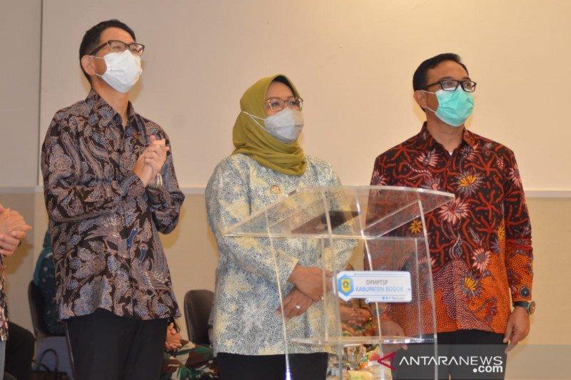 Gerai layanan publik di AEON Mall Sentul Bogor resmi beroperasi