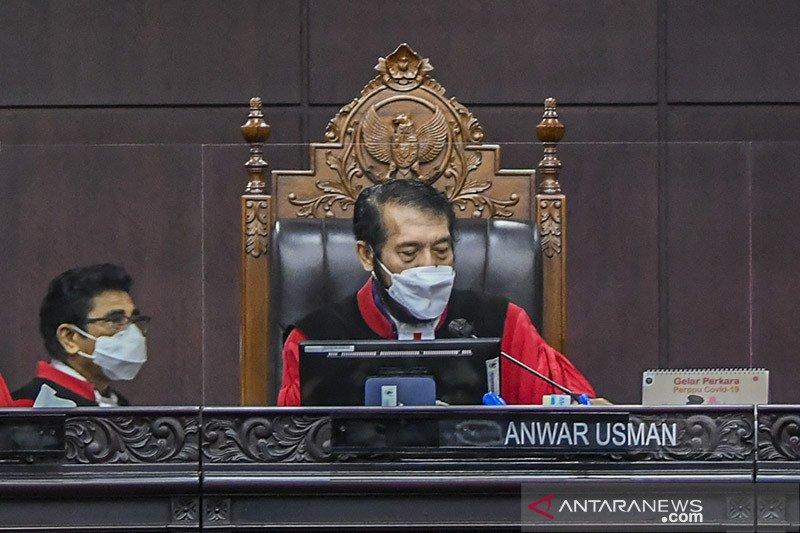 MK tolak gugatan pemohon Pilkada Kabupaten Mandailing Natal