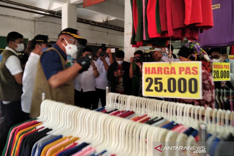 Satgas COVID-19 apresiasi penerapan prokes di Pasar Bitingan Kudus