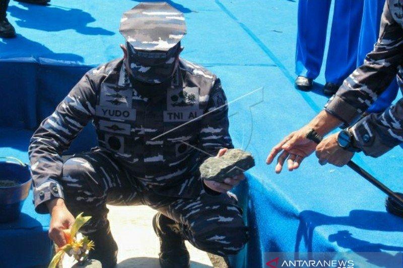 TNI AL bangun monumen kapal selam kenang KRI Nanggala 402