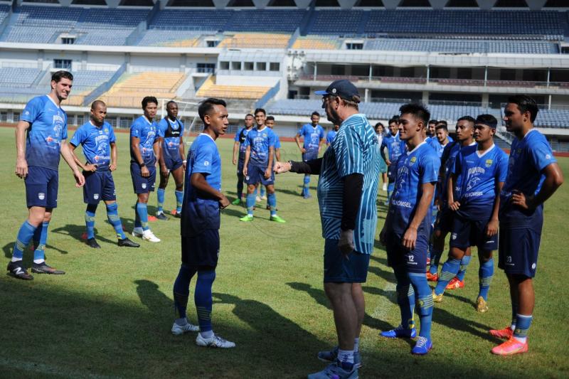 Persib Bandung agendakan latihan bersama tim lain