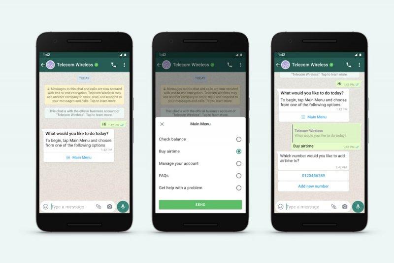 WhatsApp Business perbarui fitur mengobrol