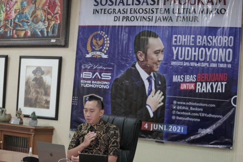 Ibas komitmen majukan pelaku UMKM hadapi pemulihan ekonomi nasional