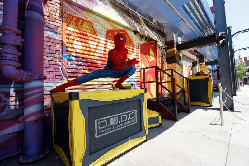 Avengers sambut penggemar Marvel jadi atraksi baru di Disneyland