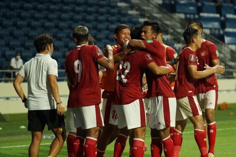 Gol Kadek-Evan bawa Indonesia imbangi Thailand 2-2