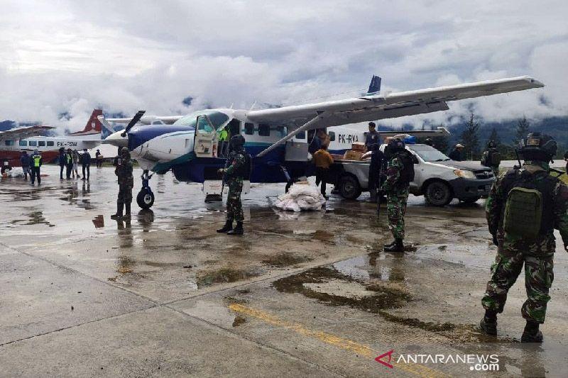 UPBU Ilaga: Tak ada korban akibat sarana bandara dibakar teroris KKB