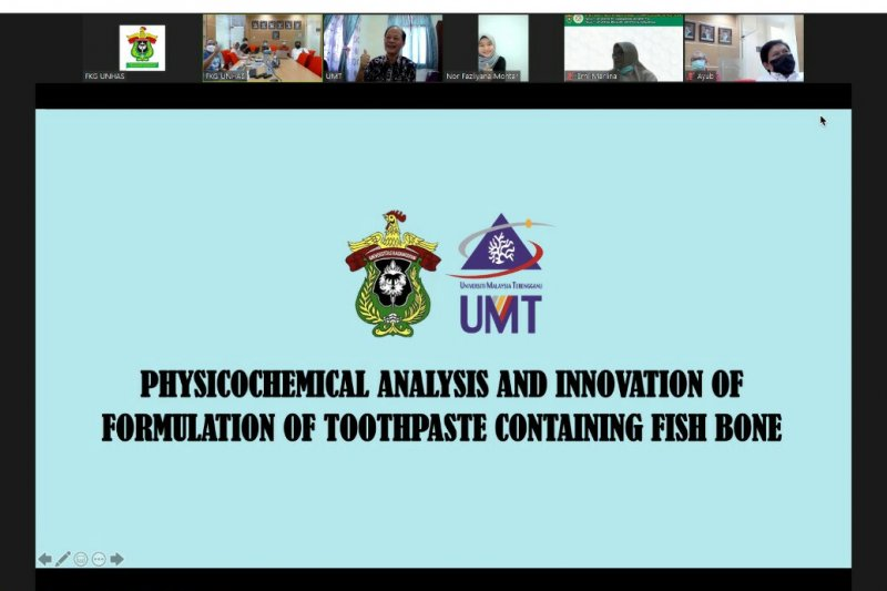 Unhas dan University Terengganu kolaborasi pasta gigi tulang ikan
