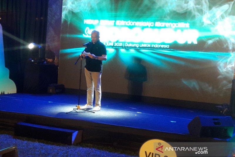 Citilink mendukung pariwisata olahraga melalui gowes Yogya-Borobudur