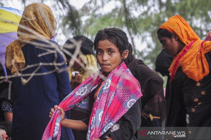 Puluhan etnis Rohingnya terdampar di Aceh Timur