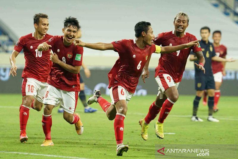Kualifikasi Piala Dunia: Indonesia bermain imbang dengan Thailand 2-2
