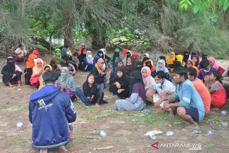 Polisi awasi kehadiran 81 imigran Rohingnya di Aceh Timur