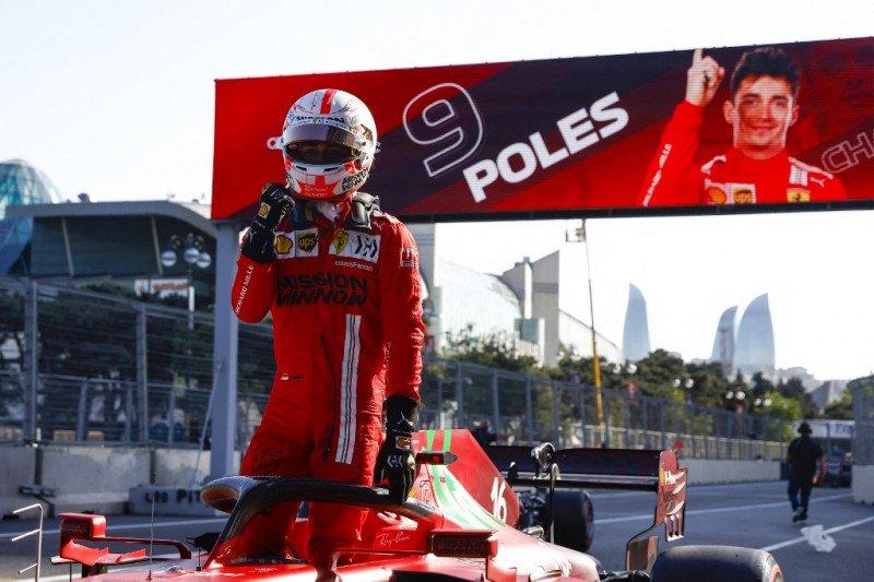 Leclerc rebut pole GP Azerbaijan, empat