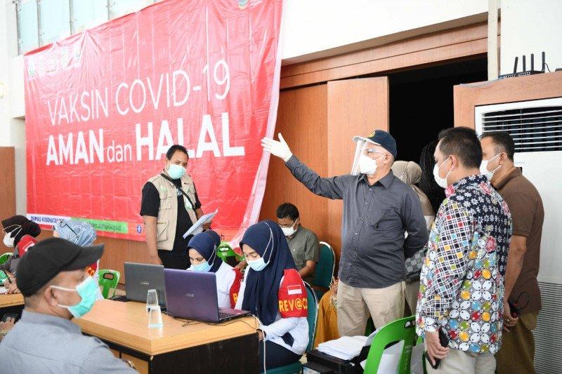 Sekda: Antusiasme warga divaksinasi bagian keseriusan cegah COVID-19