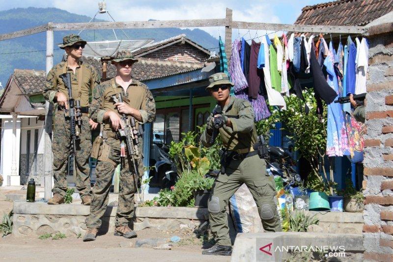 Marinir Indonesia dan Amerika Serikat berlatih perang kota