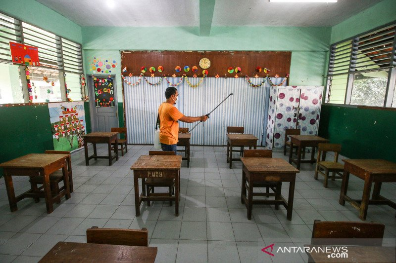 226 sekolah ikut uji coba PTM mulai Rabu