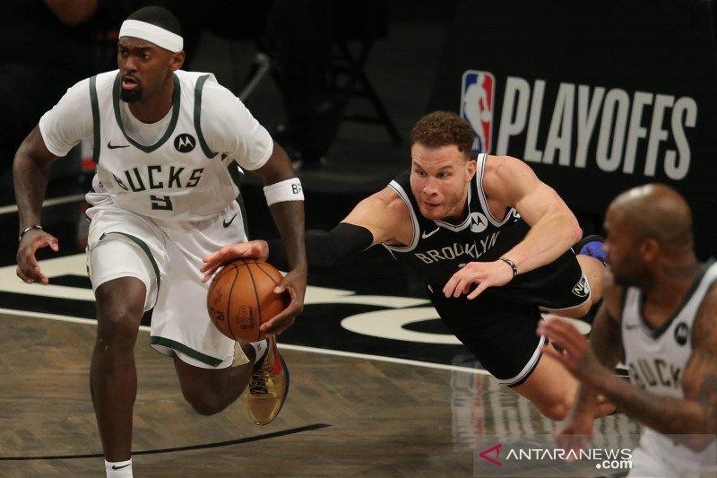 Playoff NBA Semifinal : Nets menangi game pertama lawan Bucks