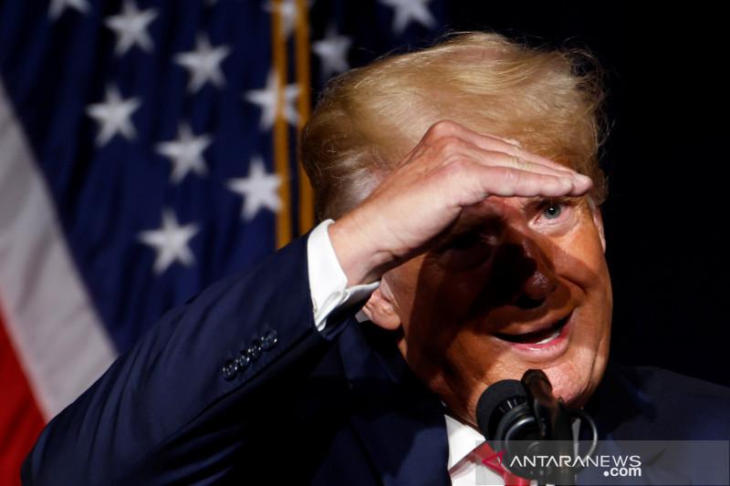 Trump kembali tampil untuk publik di North Carolina