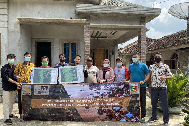 ITERA petakan potensi banjir di Kabupaten Tanggamus