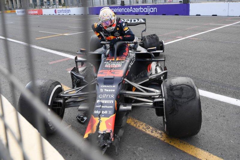 Pirelli duga serpihan sebabkan kecelakaan Stroll dan Verstappen