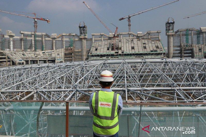 Progres pembangunan Jakarta International Stadium capai 58 persen