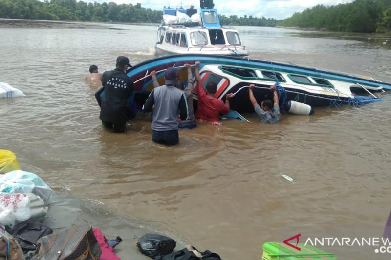 Kecelakaan kapal cepat di Nunukan dilaporkan mengangkut 30 penumpang