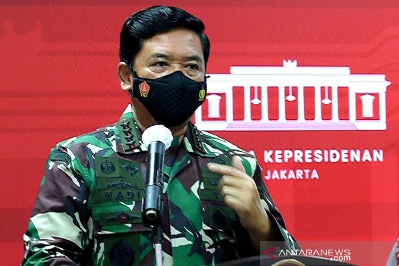 Panglima TNI: Kita tekan angka COVID-19 sampai angka terendah