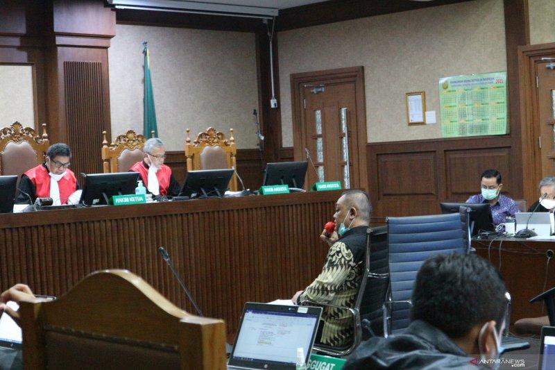 Saksi ungkap uang ke Anggota BPK dan pejabat Kemensos