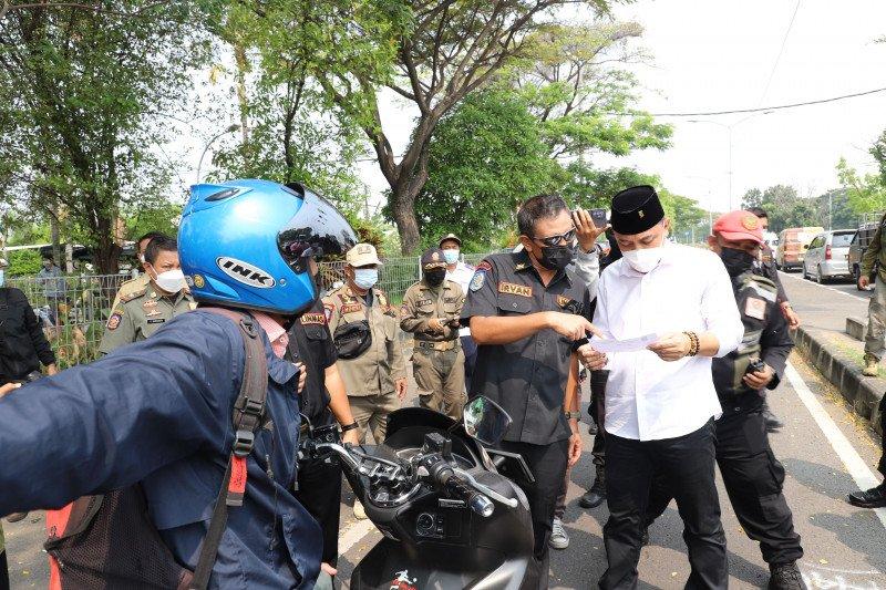 Penyekatan Jembatan Suramadu dilakukan di sisi Surabaya dan Bangkalan