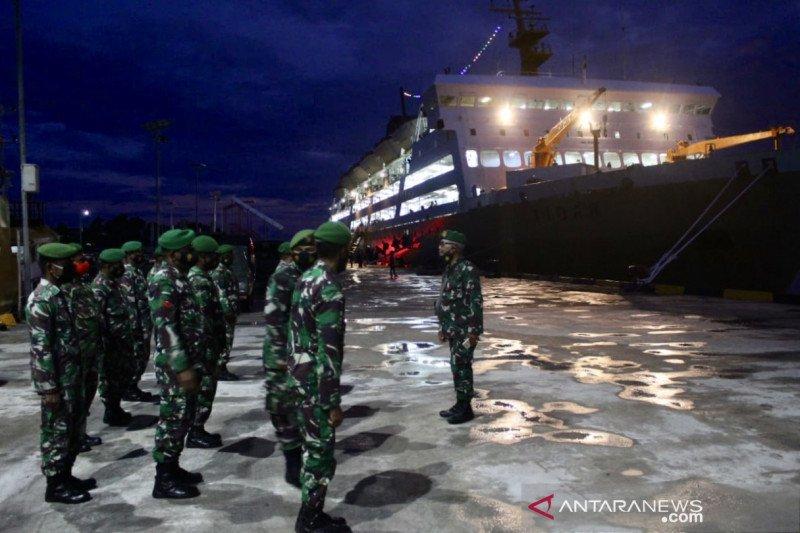 56 prajurit Satgas Pamrahwan Papua Barat siap jaga Kaimana