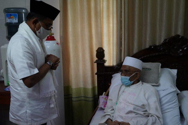 Moeldoko temui tokoh agama Lombok Tuan Guru Haji Turmudzi