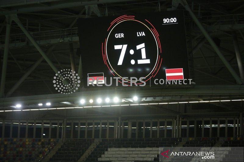Jerman lumat Latvia  7-1 di laga persahabatan jelang Euro 2020