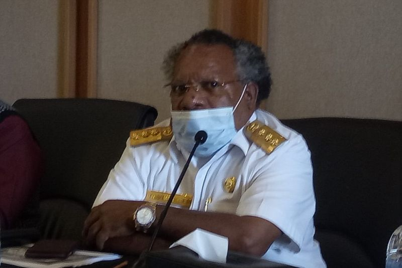 Bupati Omaleng: Mimika hentikan seluruh persiapan PON Papua