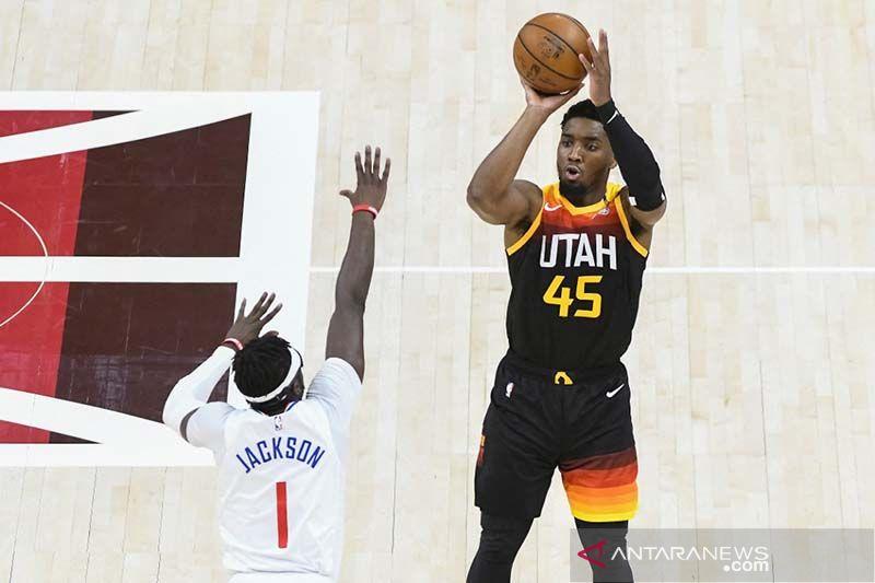 Jazz atasi awal buruk untuk ungguli sementara Clippers 1-0