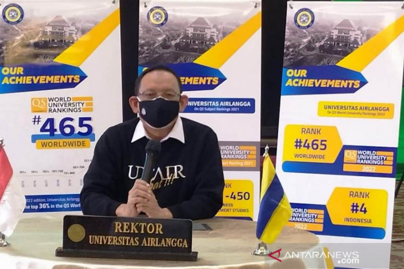 Rektor: Unair peringkat 465 terbaik di dunia