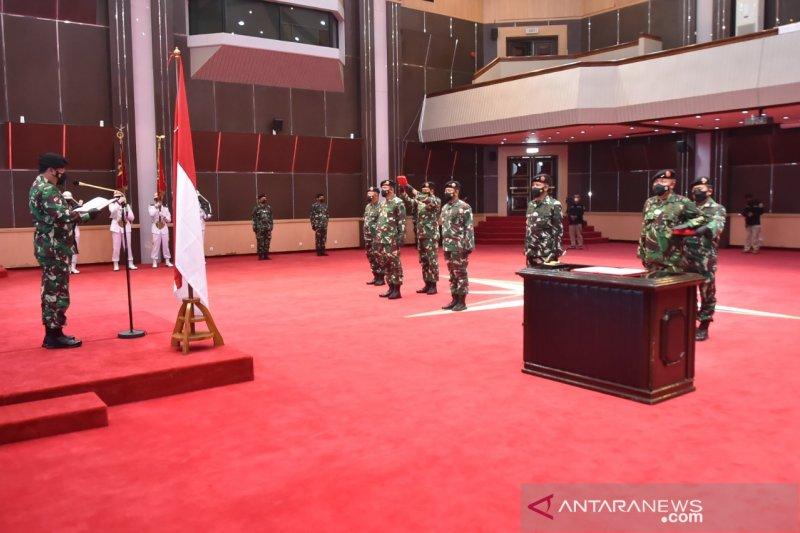 Panglima TNI pimpin sertijab Kasum dan Aspers