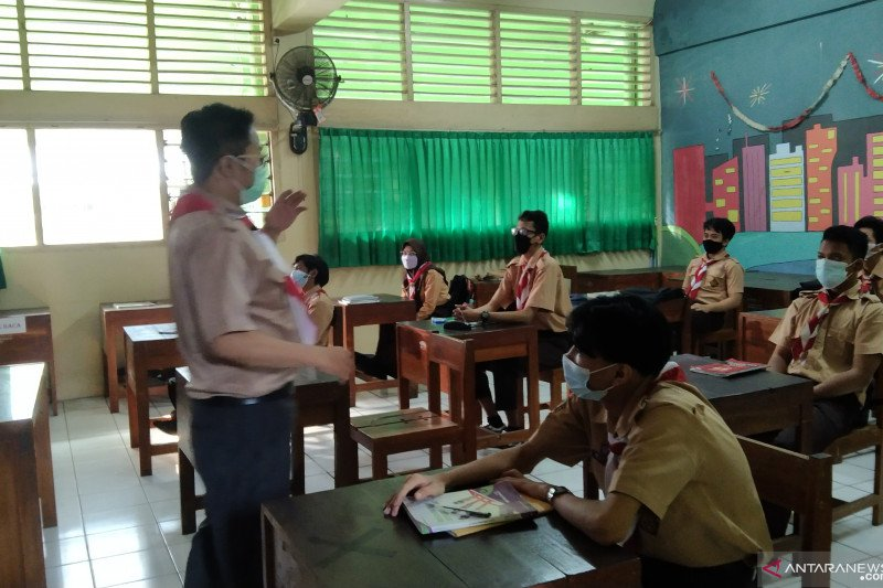 Sebanyak 37 sekolah di Jaksel selenggarakan PTM kedua
