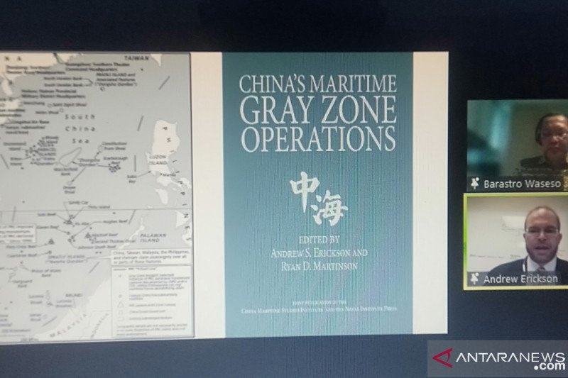 Profesor Erickson: China kerahkan milisi maritim di Laut China Selatan