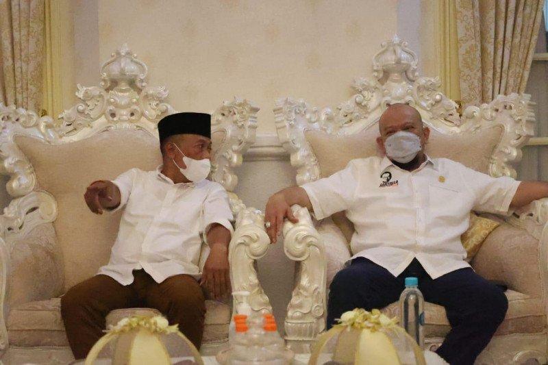 Ketua DPD RI bersilaturahmi dengan Bupati Ponorogo Sugiri