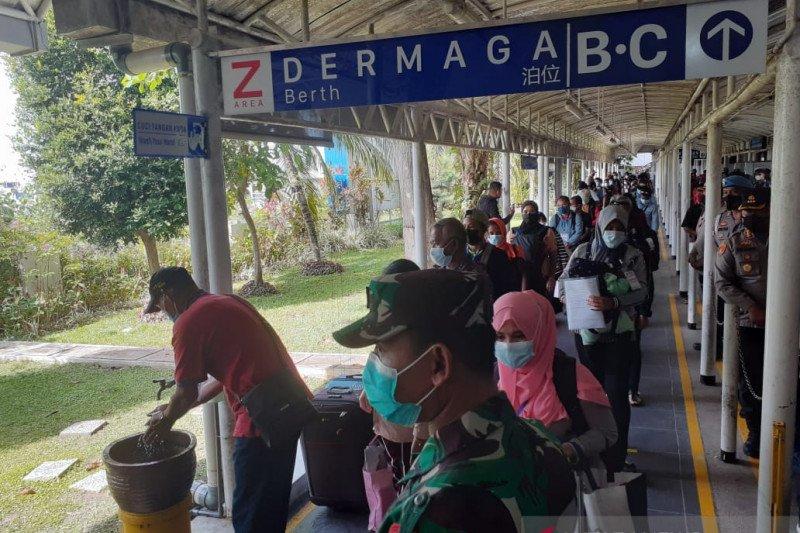 192 pekerja migran dari Malaysia jalani karantina COVID-19 di Batam