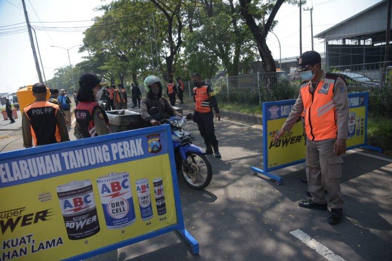 Pemkot Surabaya usulkan satu lokasi penyekatan di Jembatan Suramadu